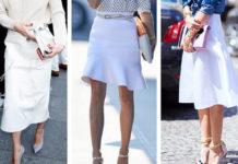 bela suknja leto avgust