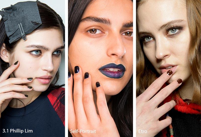 nokti manikir jesen trend