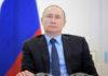 žena Vladimria Putina