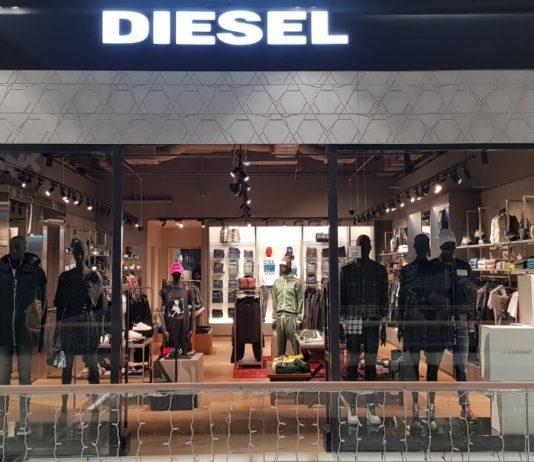Diesel prodavnica šoping centar Promenada Novi Sad