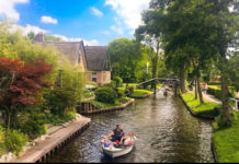 holandski gradić kao iz bajke
